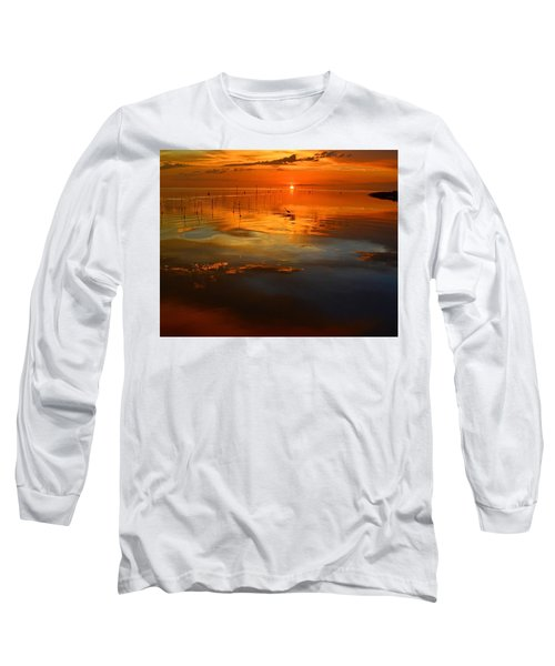 Evening Fishing Long Sleeve T-Shirt