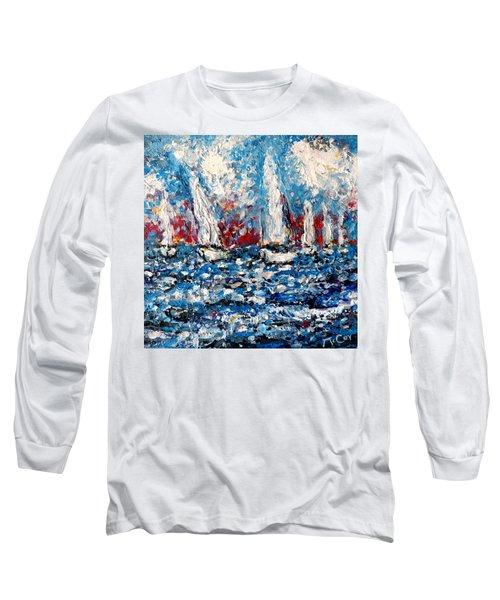 Evening Sailing Long Sleeve T-Shirt