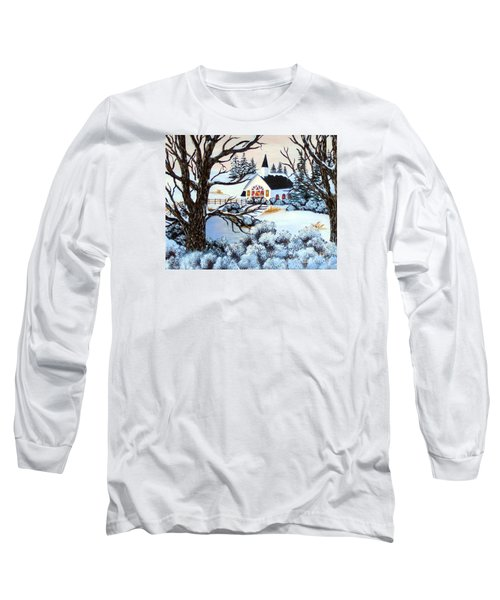 Evening Services Long Sleeve T-Shirt by Barbara Griffin