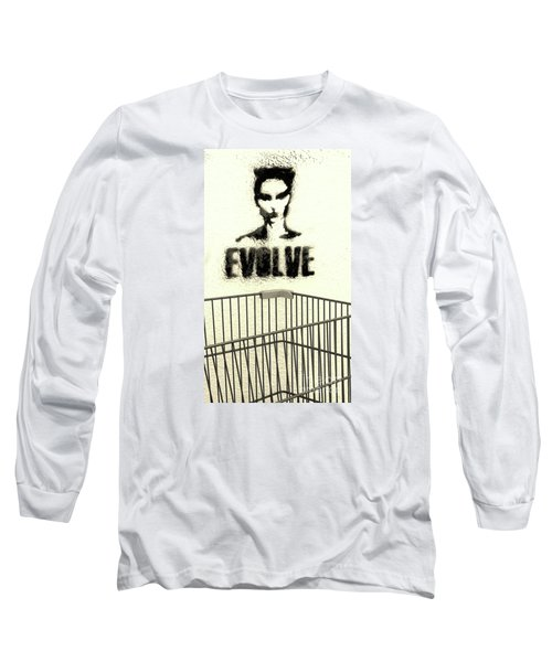 Evolution Gone Wrong Long Sleeve T-Shirt