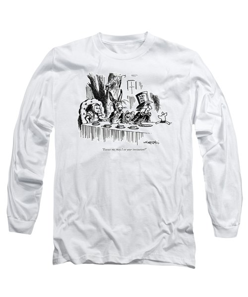 Excuse Me, May I See Your Invitation? Long Sleeve T-Shirt