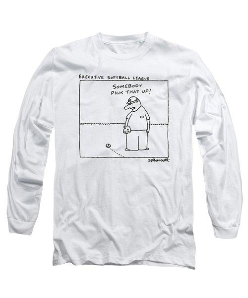 Executive Softball League Long Sleeve T-Shirt