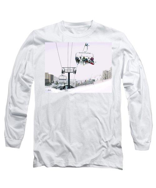 Experience Seven Springs Long Sleeve T-Shirt by Albert Puskaric