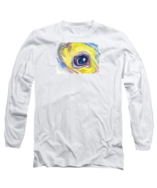 Eye Of Pelican Long Sleeve T-Shirt by Ashley Kujan