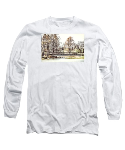 Long Sleeve T-Shirt featuring the photograph Fading Palette Of Fall by Julie Palencia