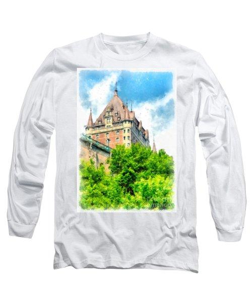 Fairmont Le Chateau Frontenac Long Sleeve T-Shirt