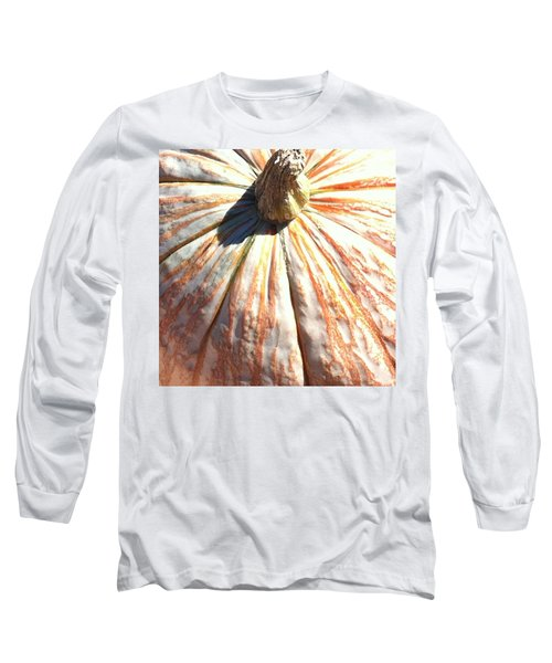 Long Sleeve T-Shirt featuring the photograph Fairy Tale Pumpkin by Denyse Duhaime