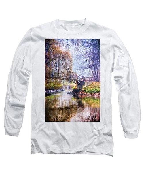 Fairytale Bridge Long Sleeve T-Shirt by Mariola Bitner