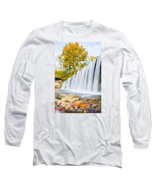 Fall At Buck Creek Long Sleeve T-Shirt by Parker Cunningham