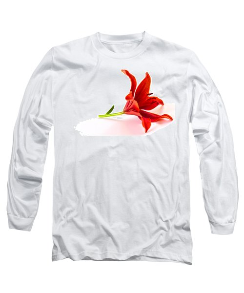 Fallen Tiger Lily Long Sleeve T-Shirt