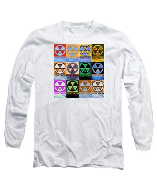 Fallout Shelter Mosaic Long Sleeve T-Shirt by Stephen Stookey