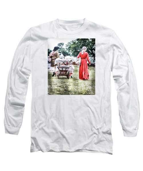 Long Sleeve T-Shirt featuring the photograph Family Rollin' by Stwayne Keubrick