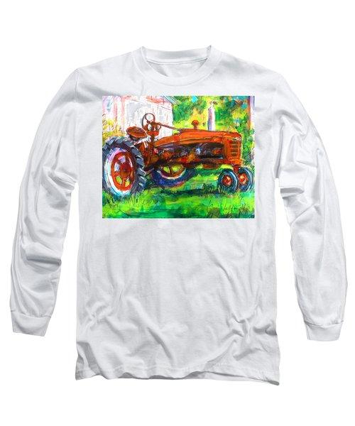Farmall Tractor Long Sleeve T-Shirt