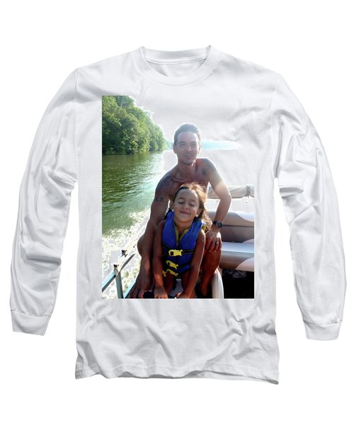 Father And Daughter At Lake Hartwell Long Sleeve T-Shirt