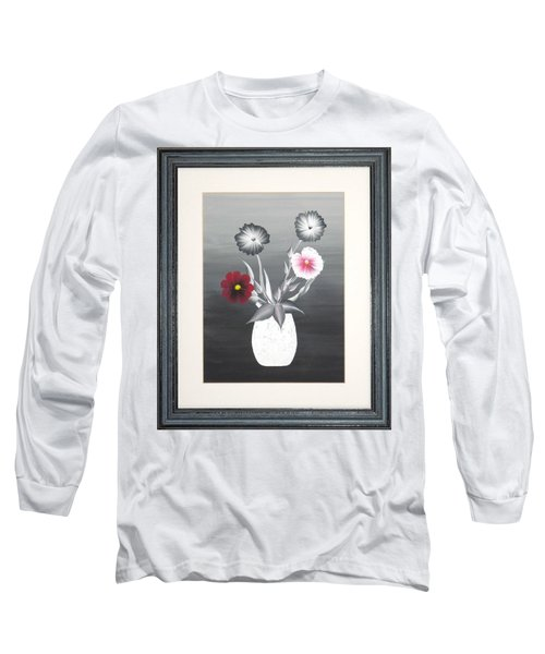 Faux Flowers II Long Sleeve T-Shirt