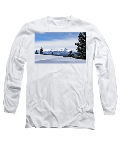 Long Sleeve T-Shirt featuring the photograph February Wind by Jeremy Rhoades