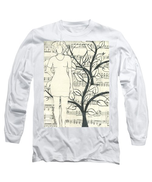 Feeling One With Nature Long Sleeve T-Shirt