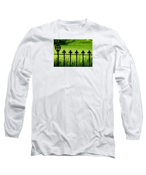 Fence And Cross Long Sleeve T-Shirt