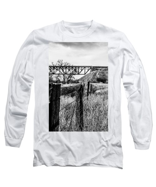 Fence Line Long Sleeve T-Shirt