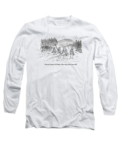 Fenwick, Benton & Perkins. How May I Direct Long Sleeve T-Shirt