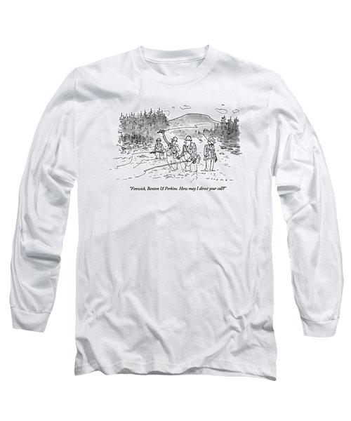 Fenwick, Benton & Perkins. How May I Direct Long Sleeve T-Shirt