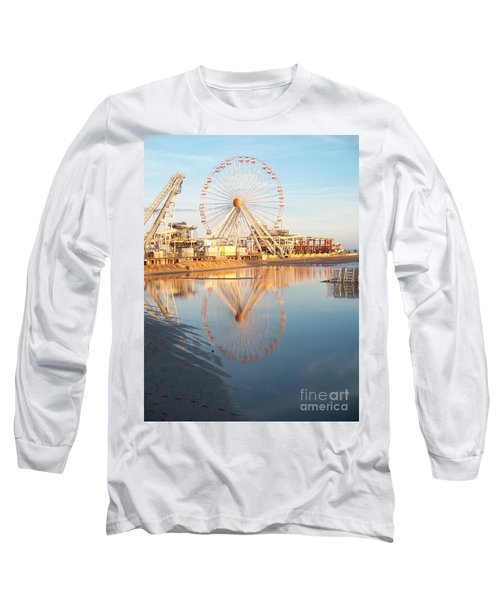 Ferris Wheel Jersey Shore 2 Long Sleeve T-Shirt