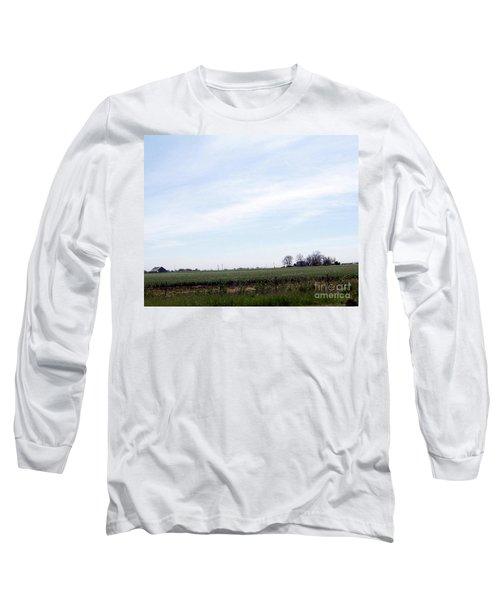 Long Sleeve T-Shirt featuring the photograph Fields Of Source by Bobbee Rickard