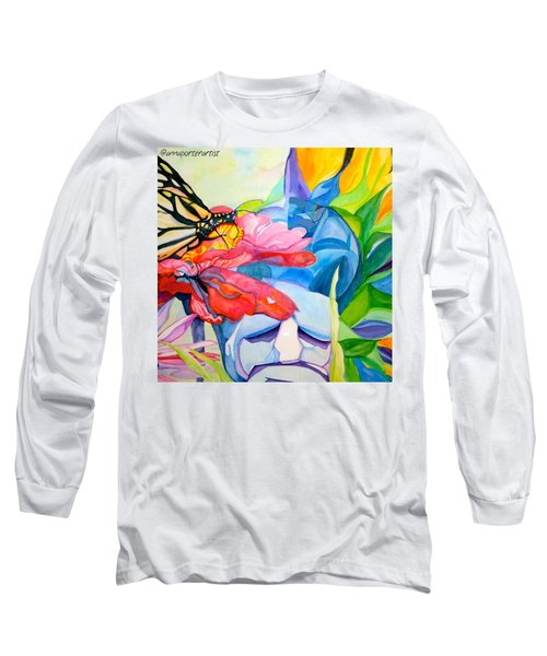 Fiji Dreams - Original Watercolor Painting Long Sleeve T-Shirt