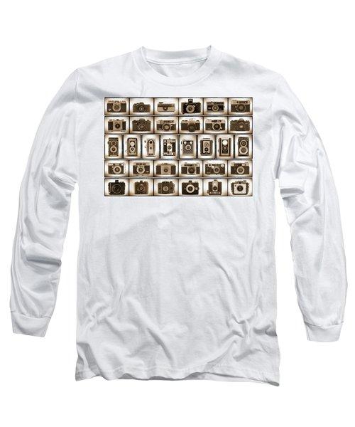 Film Camera Proofs Long Sleeve T-Shirt
