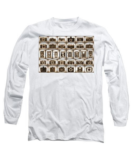 Film Camera Proofs Long Sleeve T-Shirt