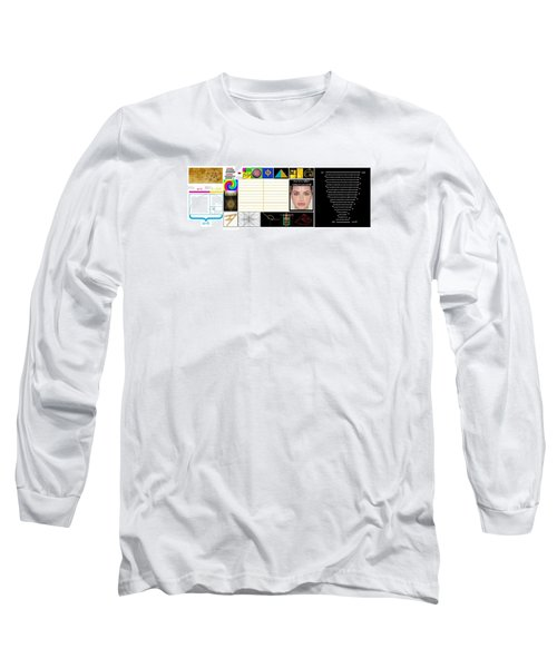 Finding Phi Long Sleeve T-Shirt by Peter Hedding