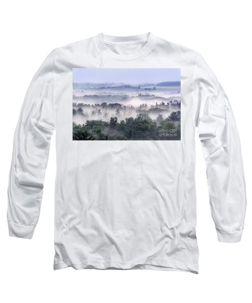 Finger Lakes Morning Long Sleeve T-Shirt
