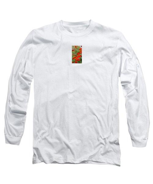 Fire Flowers Long Sleeve T-Shirt