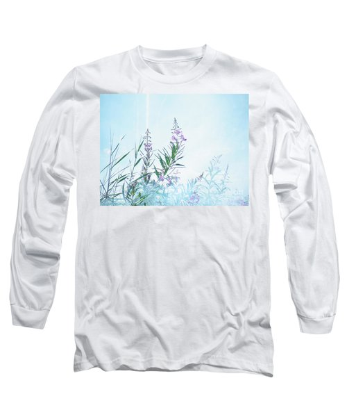 Fireweed Number Two Long Sleeve T-Shirt by Brian Boyle