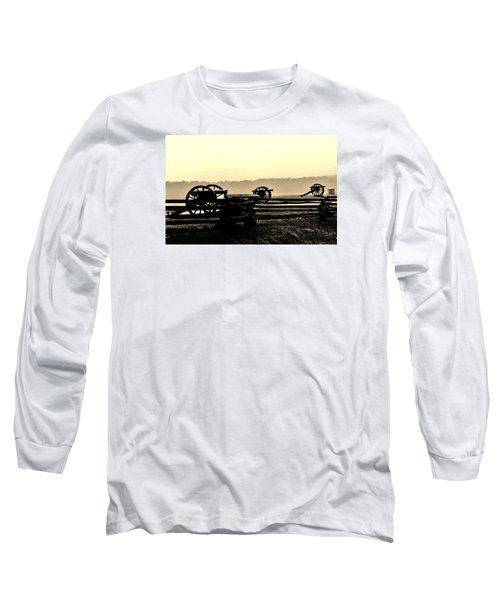 Firing Line Long Sleeve T-Shirt by Daniel Thompson