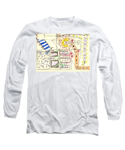 First Abstract Long Sleeve T-Shirt