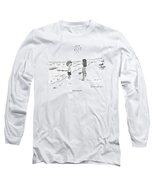 First Beach? Long Sleeve T-Shirt