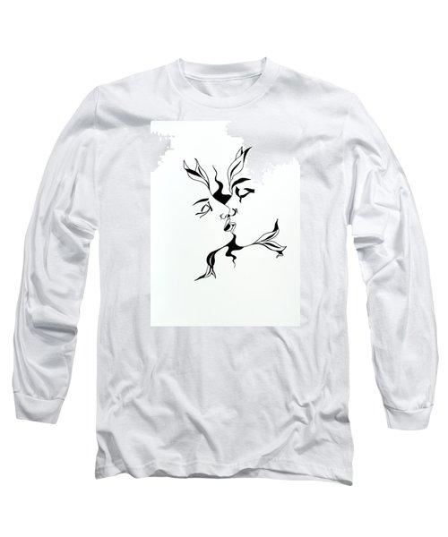 First Kiss Long Sleeve T-Shirt by Yelena Tylkina