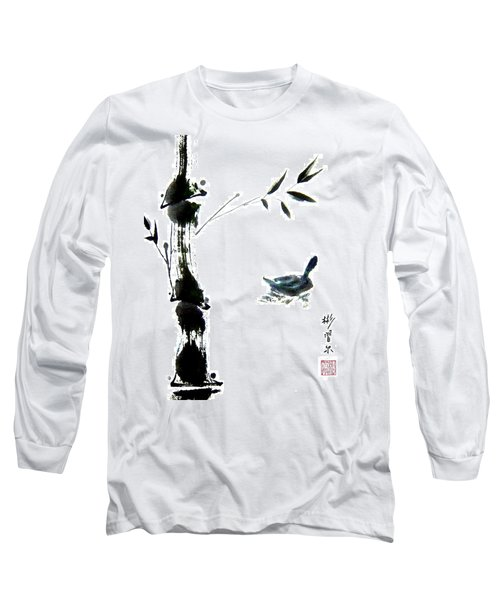 Long Sleeve T-Shirt featuring the painting First Reflection by Bill Searle