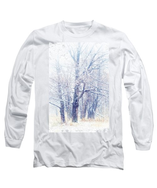 First Snow. Dreamy Wonderland Long Sleeve T-Shirt