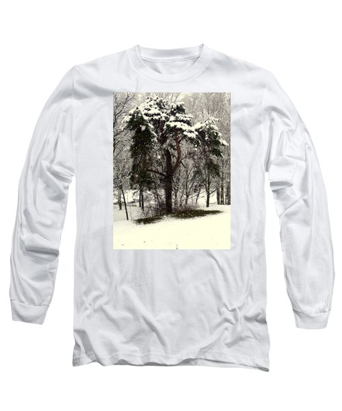 First Snow Long Sleeve T-Shirt by Henryk Gorecki