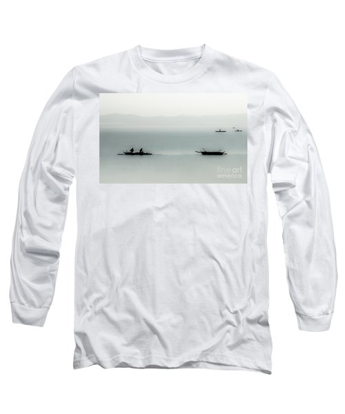 Fishing On The Philippine Sea   Long Sleeve T-Shirt