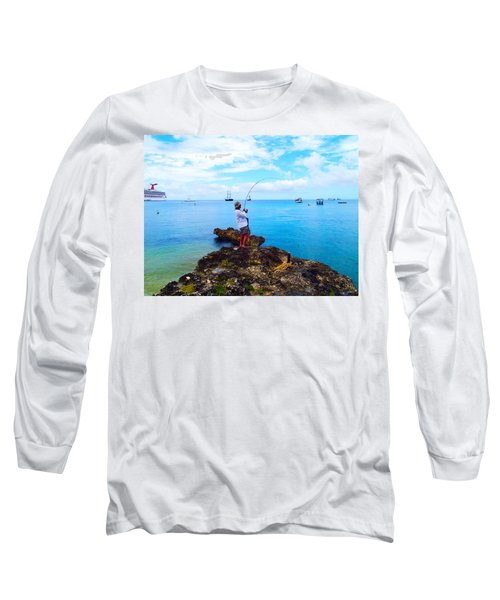 Fishing Paradise Long Sleeve T-Shirt