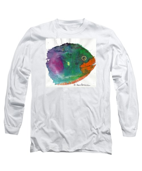 Fishy Long Sleeve T-Shirt by Joan Hartenstein
