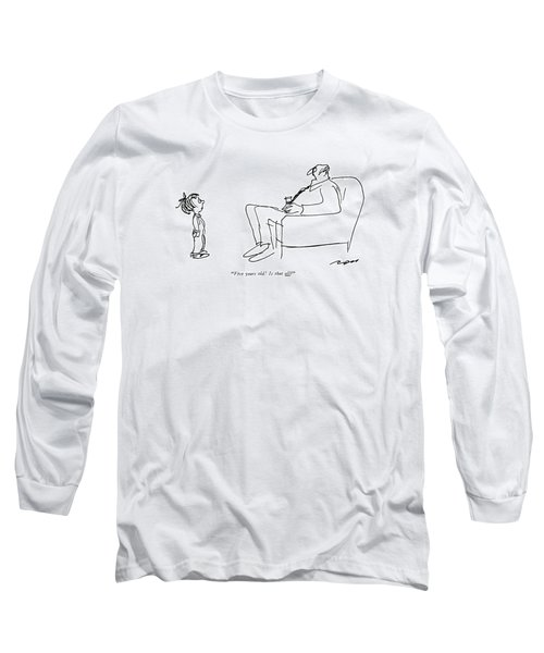 Five Years Old! Is That All? Long Sleeve T-Shirt