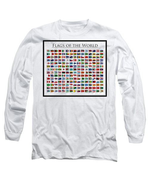 Flags Of The World Long Sleeve T-Shirt