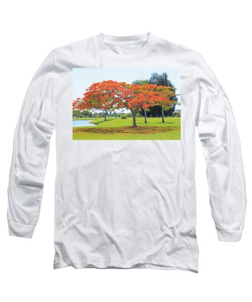 Flame Tree Long Sleeve T-Shirt