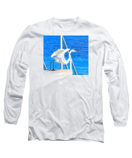 Long Sleeve T-Shirt featuring the photograph Flaps Up by Patti Whitten