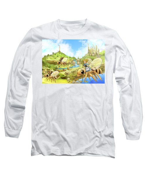Flight Over Capira Long Sleeve T-Shirt by Reynold Jay