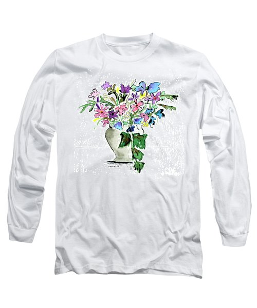 Floral Vase Long Sleeve T-Shirt